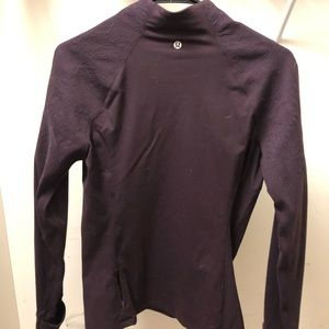 Lululemon 1/4 zip jacket